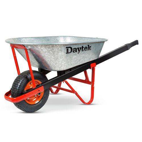 Daytek 100L Galvanised Contractor Wheelbarrow