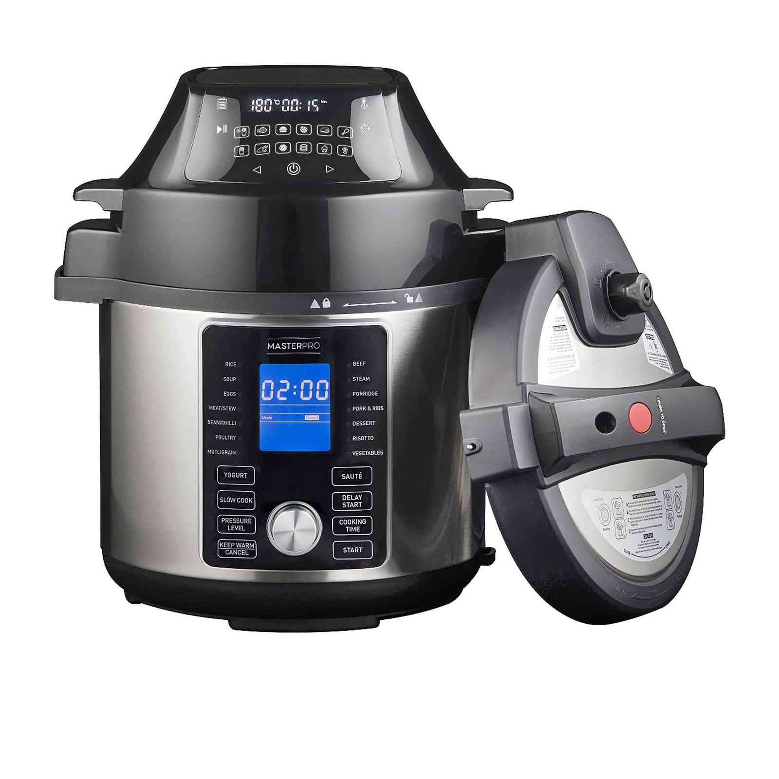 MasterPro Ultimate All In One Multi Cooker & Air Fryer 5L