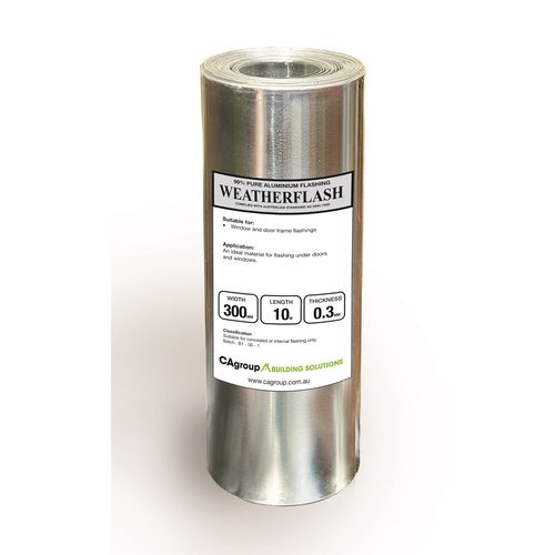 Consolidated Alloys 300 x 0.3mm x 10m Weatherflash