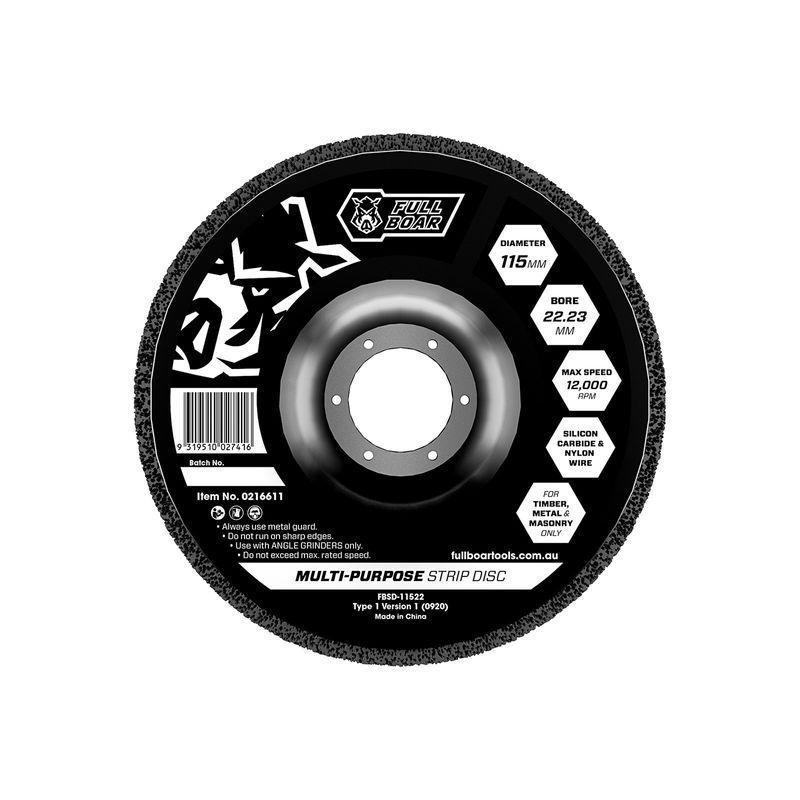 115mm Strip Disc 16mm Bore