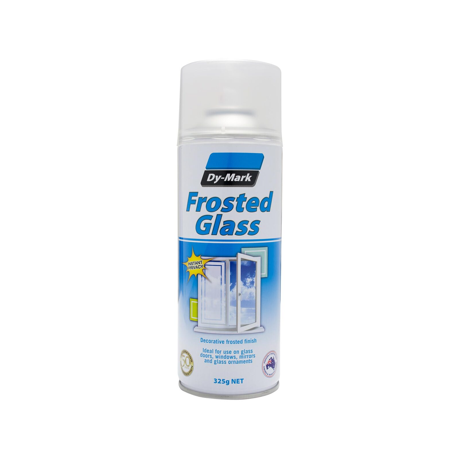 Dy-Mark 325g Frosted Glass Decorative Spray Paint