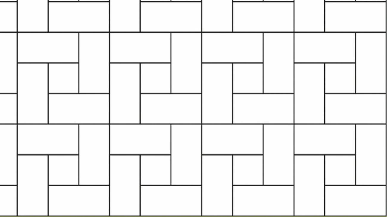 Windmill tile pattern