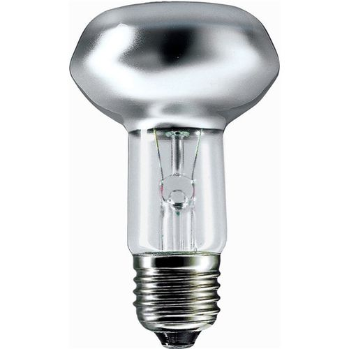 Philips 60W 30D ES R63 Clear Reflector Lamp