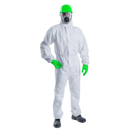 Haydn  2XL Disposable Hooded Coveralls  Class 5/6