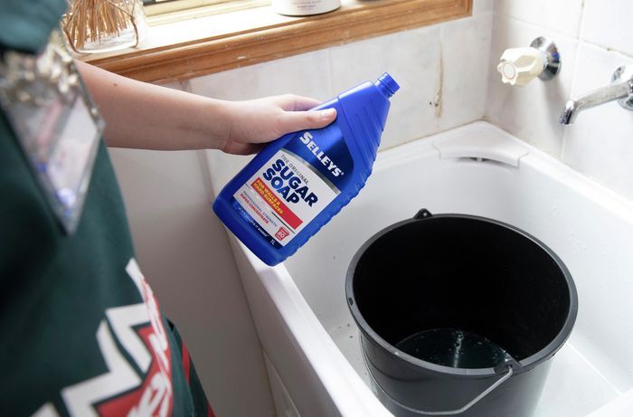 DIY Advice Image - How to clean grout and get it white again. G Drive blob storage upload.