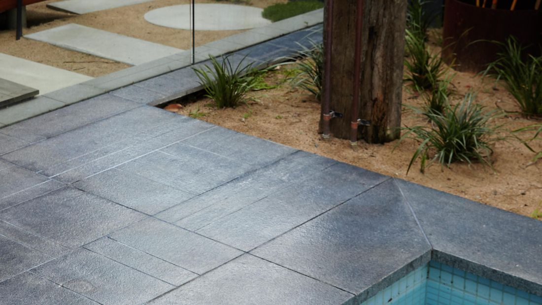 DIY Step Image - How to seal outdoor pavers . Blob storage upload.