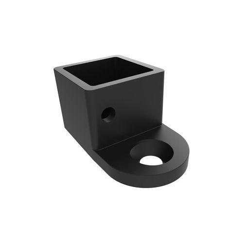Architects Choice Black Aluminium Friction Fit Handrail Wall Bracket