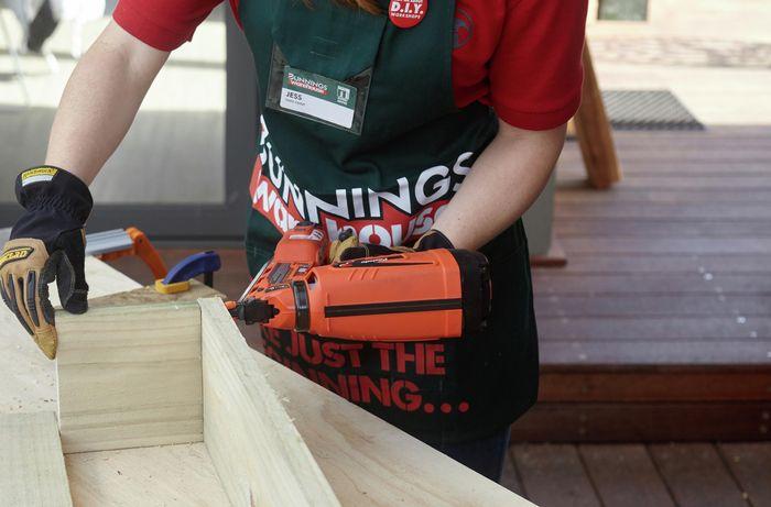 DIY Step Image - D.I.Y. tiered timber planter . Blob storage upload.