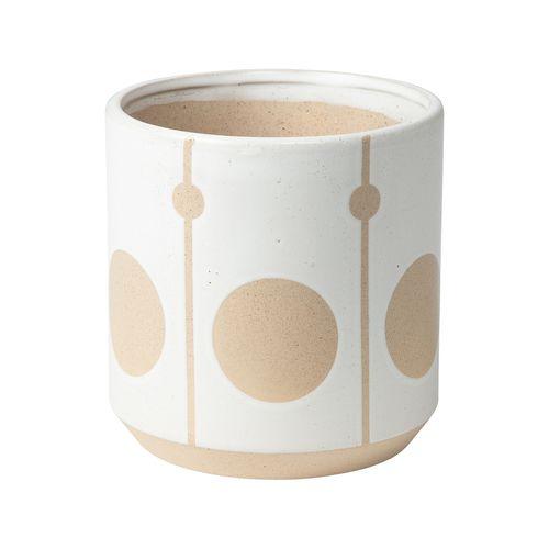 Northcote Pottery 23cm White Isabel Pot