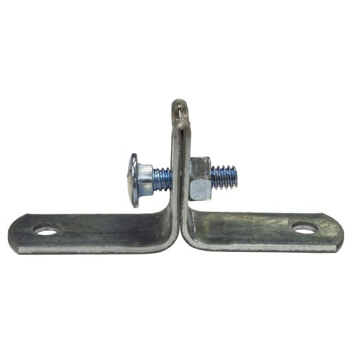Kinetic Galvanised Stand Off Saddle Clips - 2 Pack