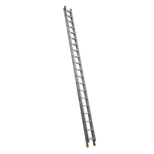 Bailey 6.2-11.1m 150kg Industrial Rated Pro 20 Rung Aluminium Extension Ladder