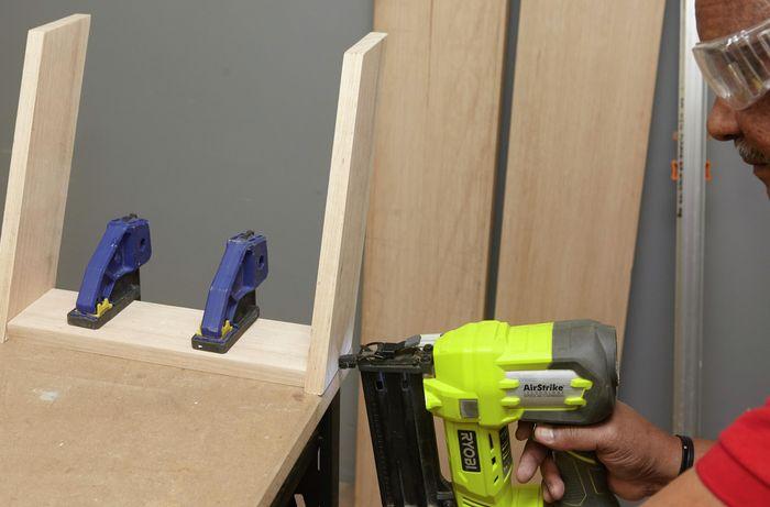 DIY Step Image - How to build a D.I.Y. wooden step stool . Blob storage upload.