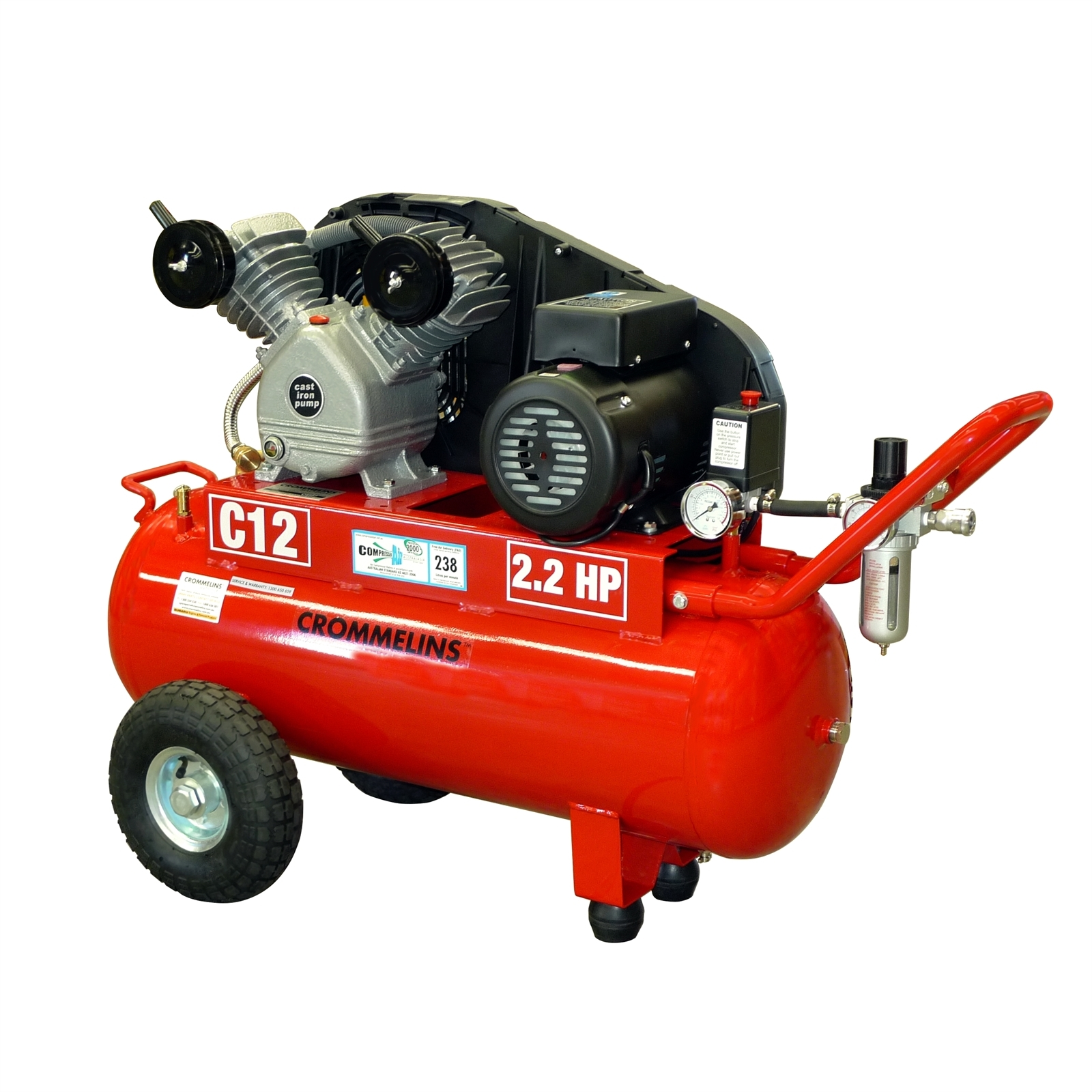 For Hire: Air Compressor - 4hr