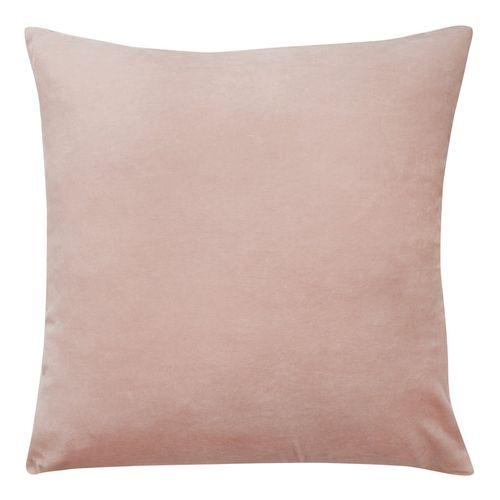 Velvet & Linen Cushion - Blush