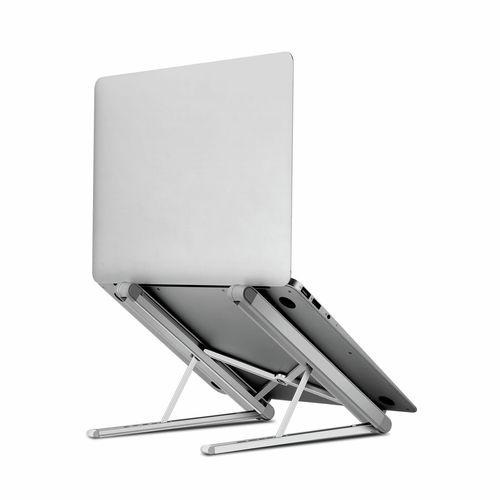 "TODO 9.7"" - 15.6"" Aluminium Laptop / Tablet Stand Folding Mount"