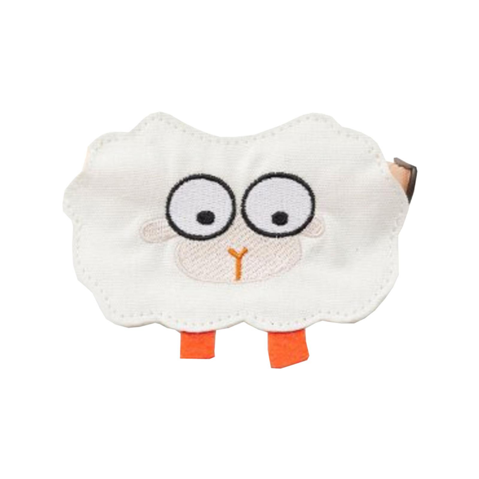 Petkit 12cm Adjustable Pet Saliva Towel/Bib Collar Wedding/Party Accessory Sheep