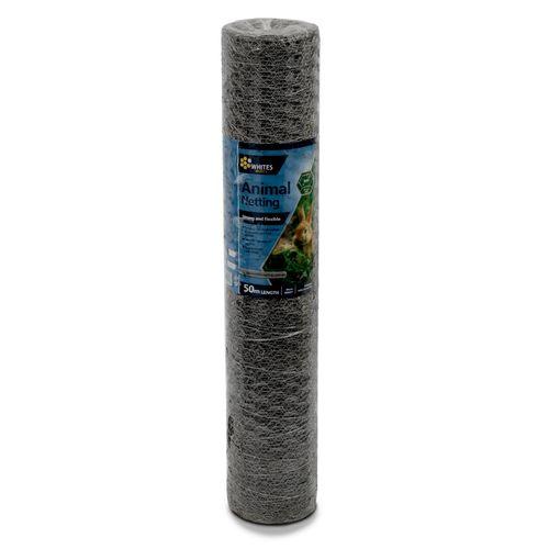 Whites 90cm x 30 x 0.9mm x 50m Wire Animal Netting