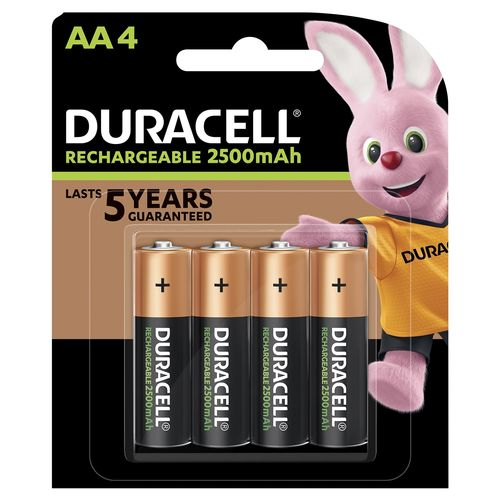 Duracell Rechargeable AA4