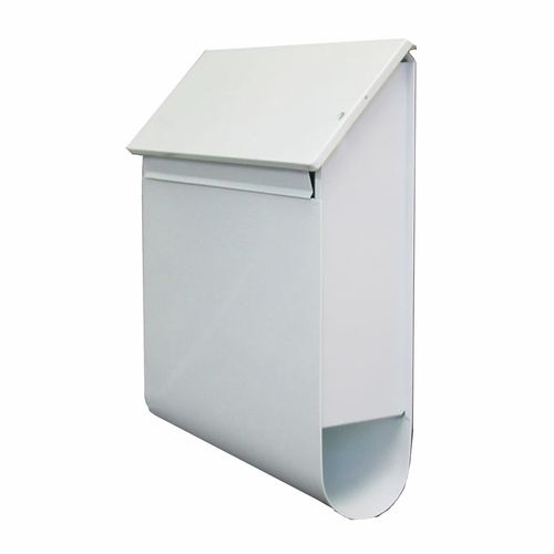 Sandleford White Wall Mount Vault Letterbox