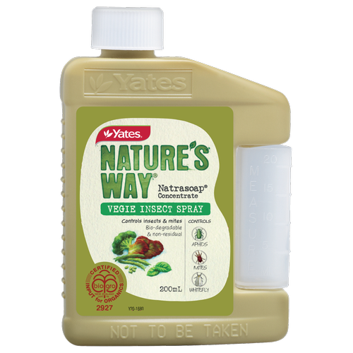 Yates Nature's Way 200ml Vegie Insect Concentrate