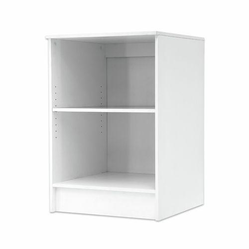 Bedford 884 x 604 x 604mm White High Moisture Resistant Open Base Unit