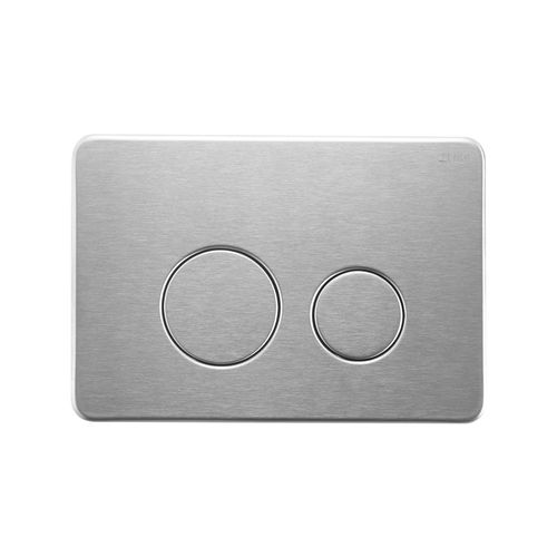 Stainless Steel Round Brushed Nickle Flush Plate