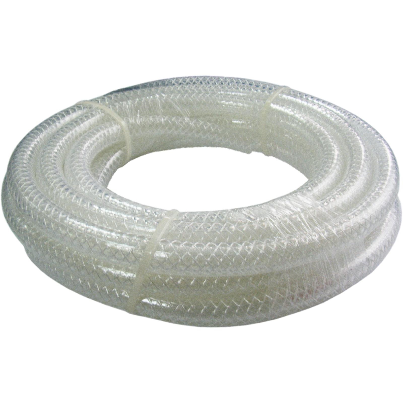 Kinetic 10mm x 2m Clear PVC Reinforced Plumbing Hose