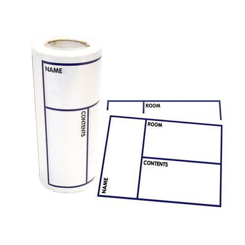 Wrap & Move Carton Labels - 100 Roll