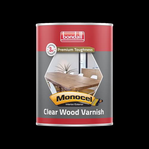 Bondall 500ml Gloss Monocel Clear Timber Varnish