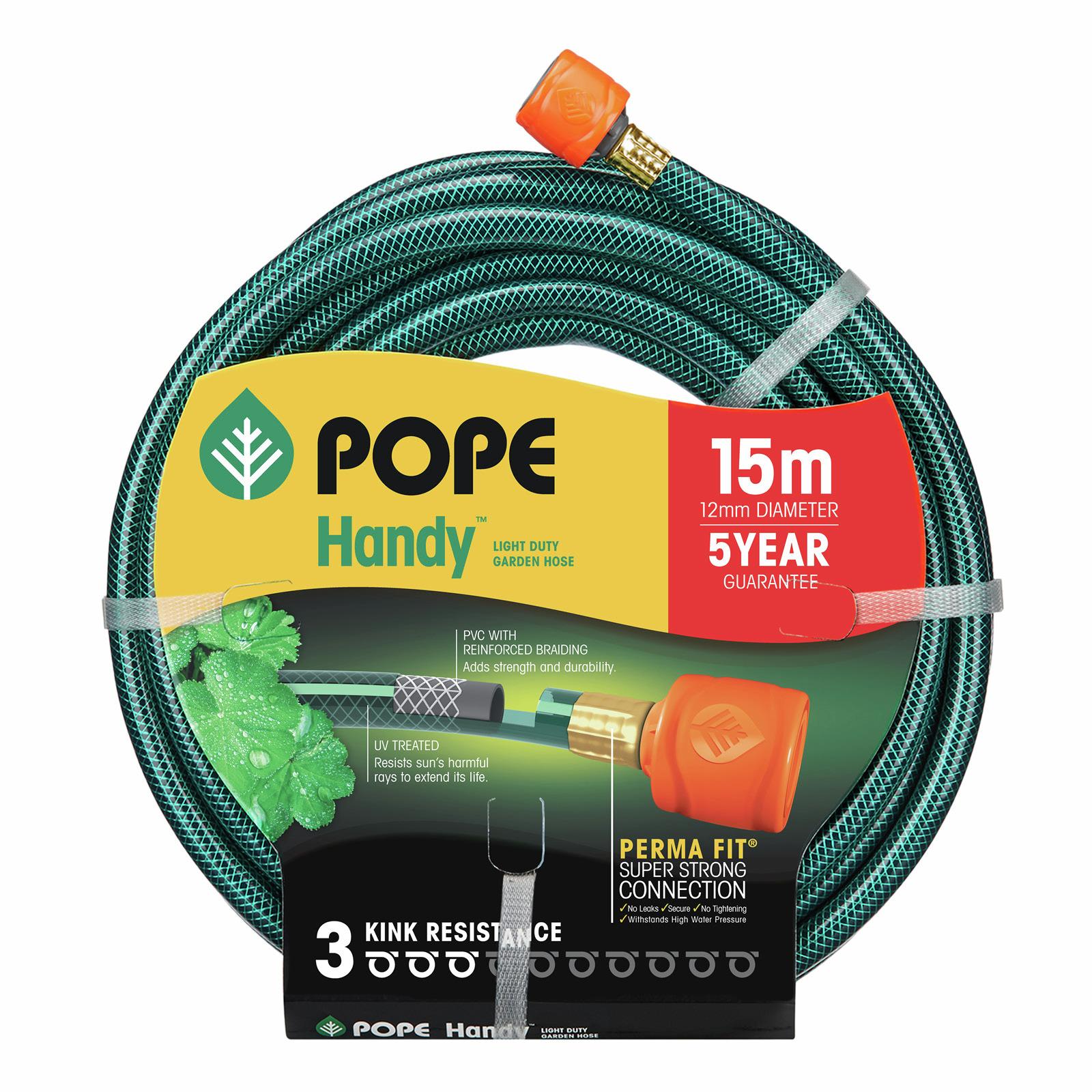 Pope 12mm x 15m Handy Garden Hose