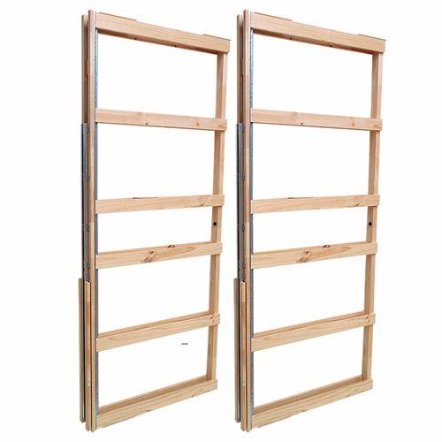 Hume 2040 x 820 x 90mm Evolution Double Door Cavity Unit