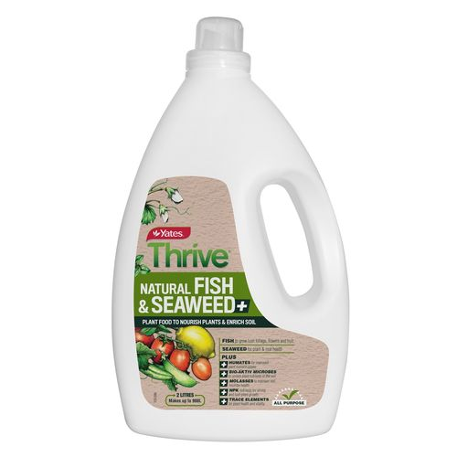 Yates Thrive 2L Natural Fish And Seaweed Plant Food Concentrate