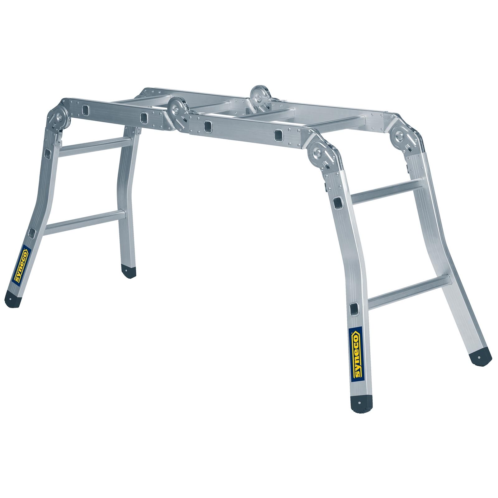 Syneco 2.5m 120kg Weight Capacity Multi Purpose Folding Aluminium Ladder