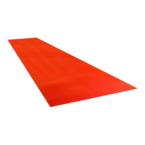 Matpro 1 x 3m Red Small Event Runner Prepack Carpet