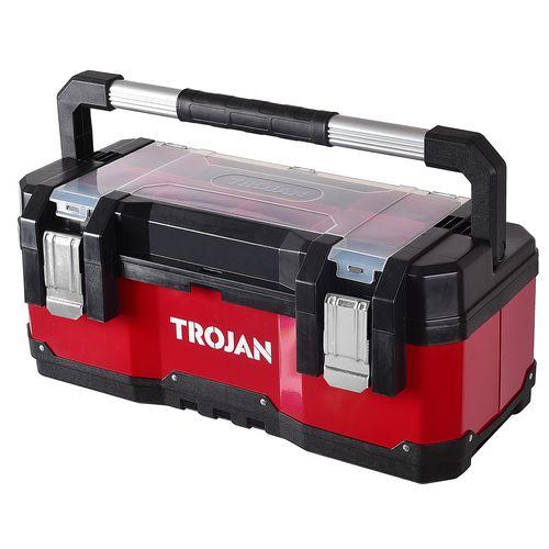 Trojan 585 x 288 x 255mm Tool Box with Tote