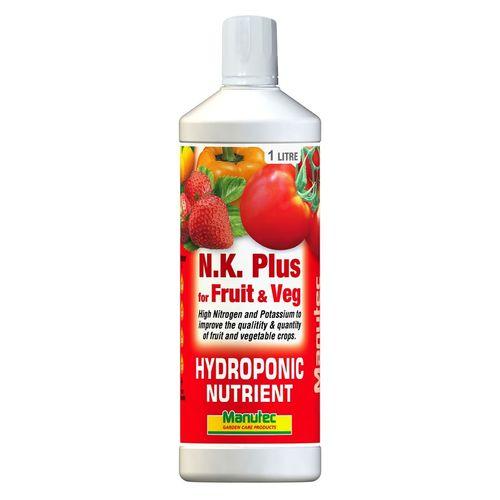 Manutec 1L Hydroponic NK Plus For Fruit And Veg