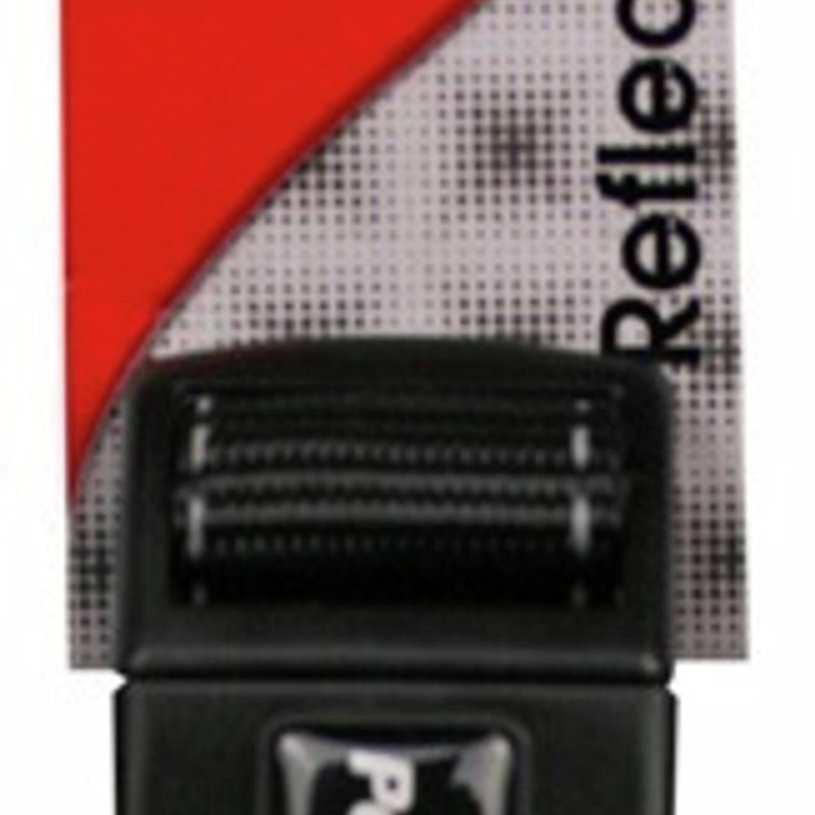 Reflective Adjustable Nylon Dog Collar - 24-37cm x 15mm - Black  (Pet One)