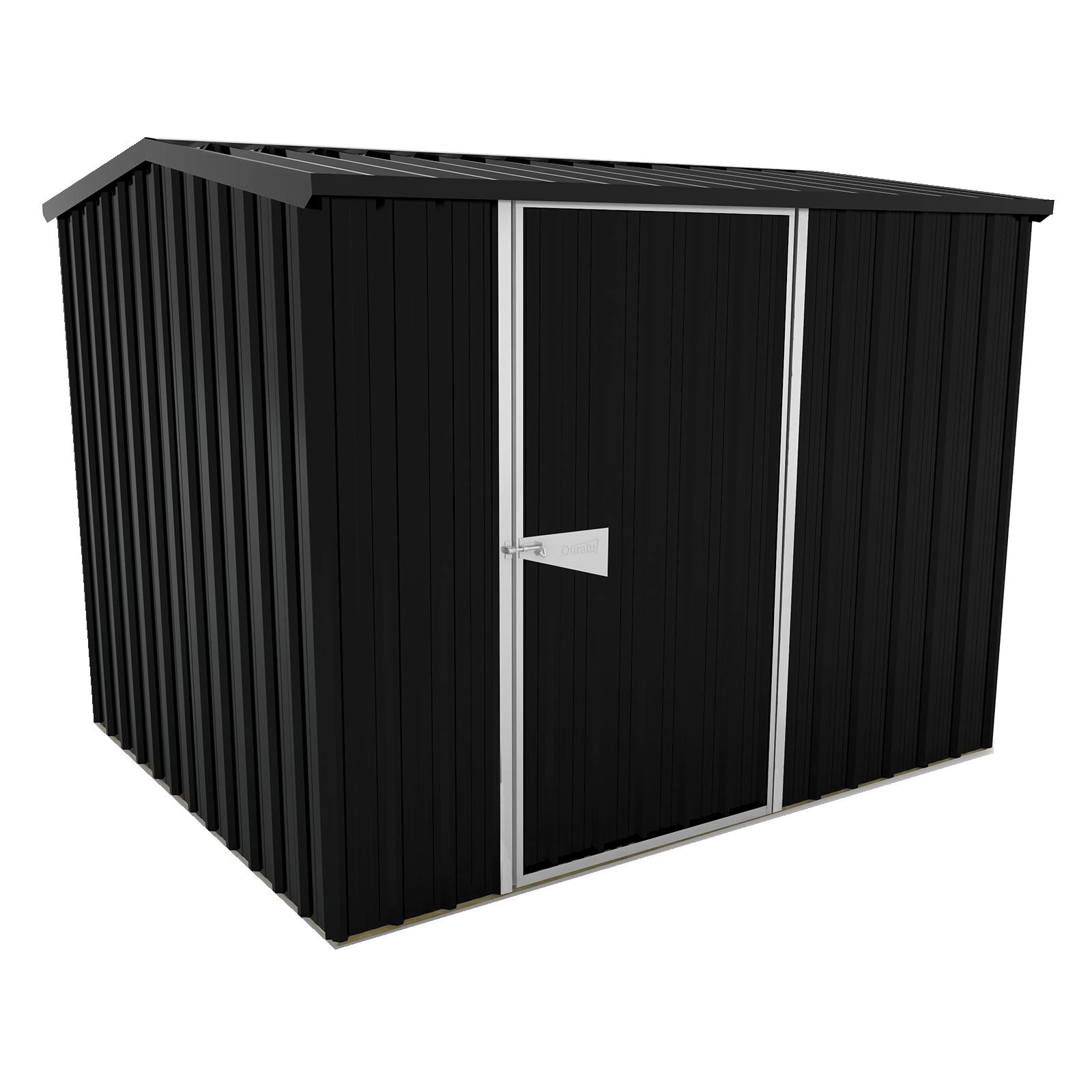 Duratuf Sentry 2.5 x 2.0m Ebony Gable Shed
