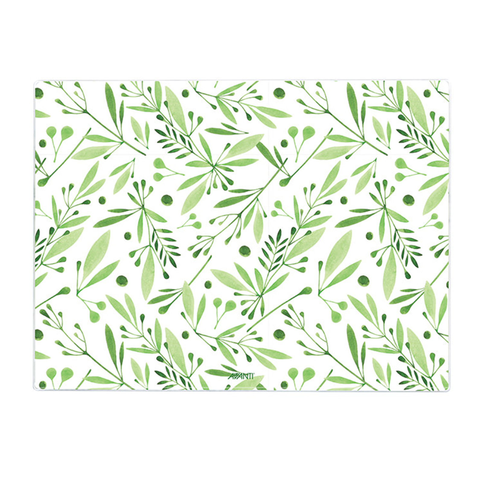 Avanti Tempered Glass Surface Protector 30x40x4cm Olive Branch