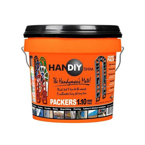 HanDIY Shim 1-10mm Packer Handy Pack - 134 Pack