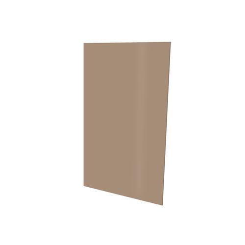Vistelle 2070 x 1250 x 4mm Tawny High Gloss Acrylic Bathroom Panel