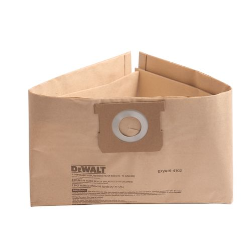 Dewalt 45-61L Dust Bag - 3 Pack