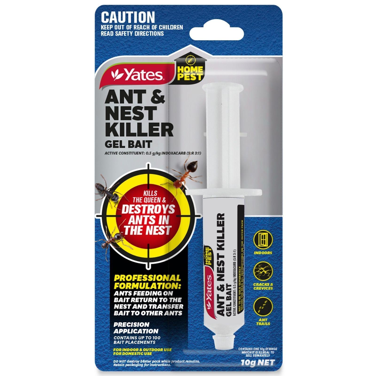 Yates 10g Home Pest Ant & Nest Killer Gel Bait