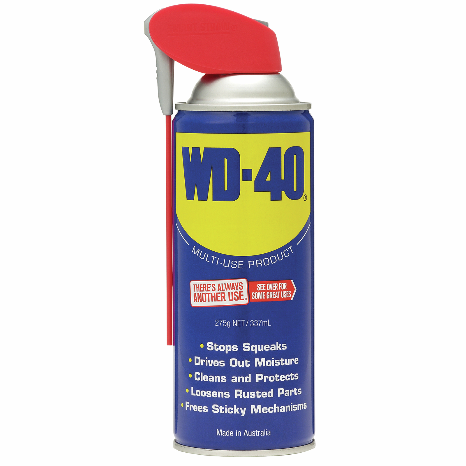 WD-40 275g Lubricant with Smart Straw