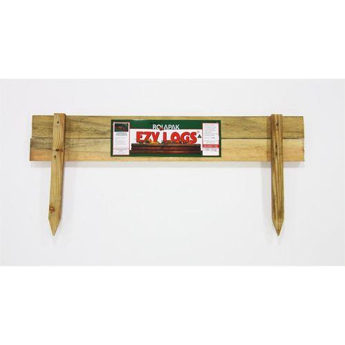 Rola Pak 1m 2 Log Ezy Log Garden Edging
