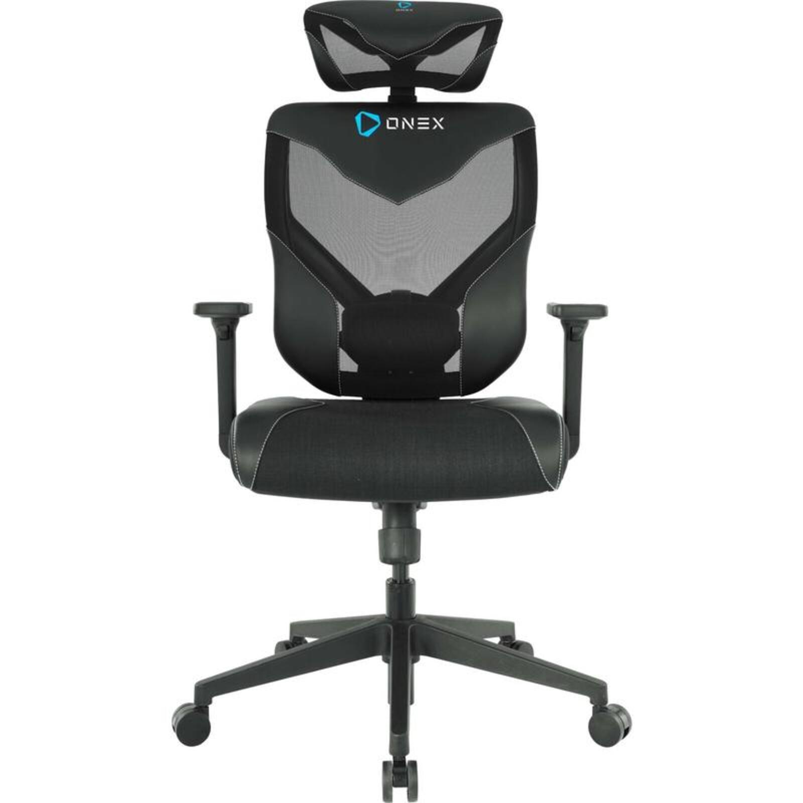 ONEX GT-V7-X Black Vida Ergonomic Office Chair, w/55mm PA Caster