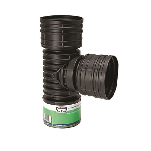 Reln 65mm Stretch Ag-Pipe Tee Piece