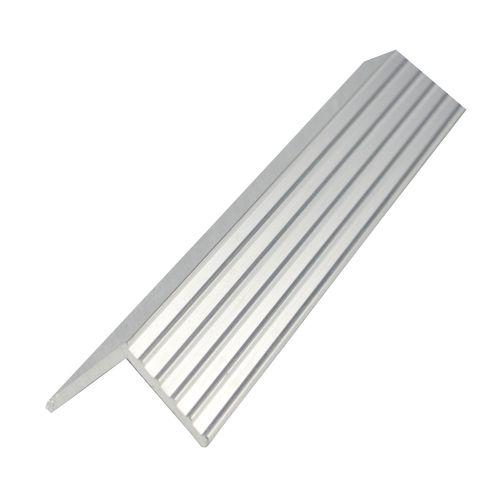 Metal Mate 25.4 x 25.4 x 1.57mm 1m Aluminium Fluted Angle