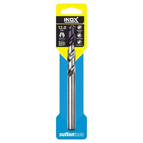 Sutton Tools 12.0mm INOX Stainless Steel Jobber Drill Bit