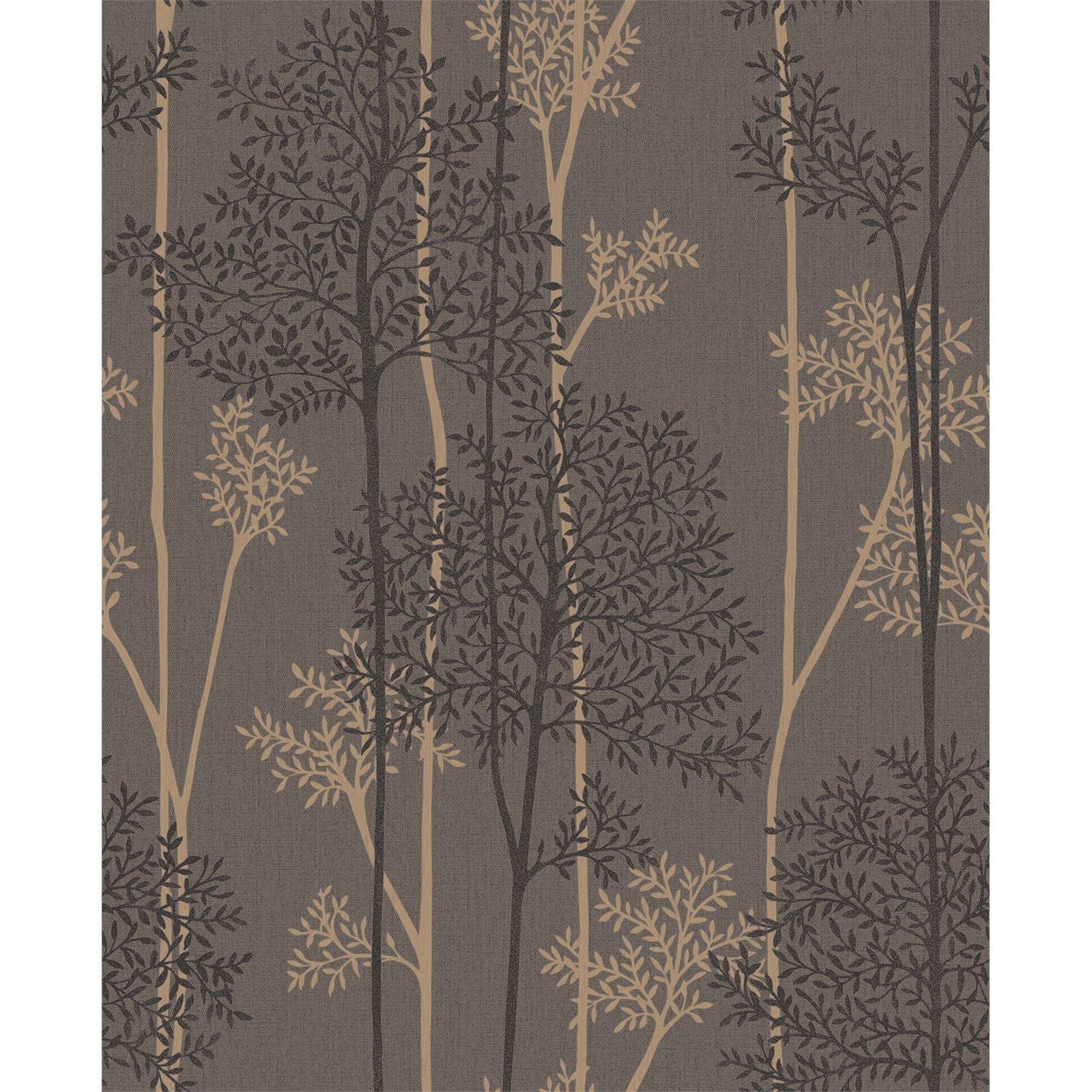 Superfresco Easy 52cm x 10m Chocolate / Bronze Eternal Wallpaper